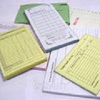 Бланки канцелярские, бухгалтерские книги