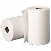 Бумажные полотенца в рулоне