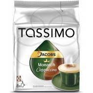 Кава мелена TASSIMO JACOBS Monarch Cappuccino 260г